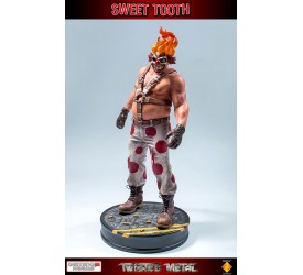 Twisted Metal Statue Sweet Tooth 34 cm