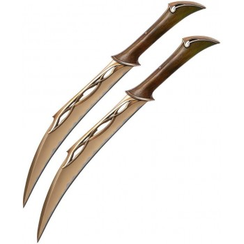 The Hobbit Fighting Knives of Tauriel 50 cm