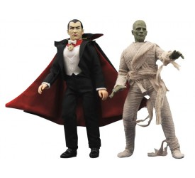 Universal Monsters Series 2 Retro Action Figure Set 20 cm (2)