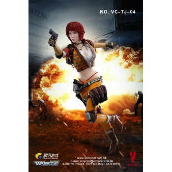 VERYCOOL 1/6 Scale Wefire Of Tencent Game Fourth Bomb Female Mercenary Heart King