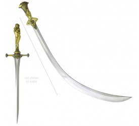 Game of Thrones: Daario's Ladies - Scimitar Blade and Matching Dagger