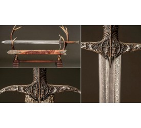 Game of Thrones: Heartsbane Damascus Sword 1:1 Scale Replica