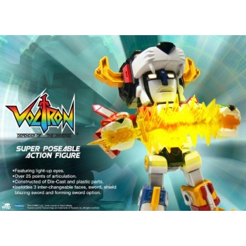 Voltron 30th Anniversary Super Deformed 5 inch die-cast Voltron