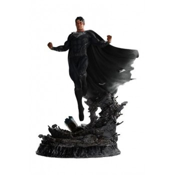 Zack Snyder's Justice League Statue 1/4 Superman Black Suit 65 cm