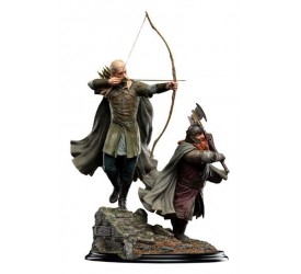 The Lord of the Rings Statue 1/6 Legolas and Gimli at Amon Hen 46 cm