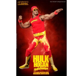 WWE Wrestling Action Figure 1/6 Hulk Hogan Hulkamania 33 cm
