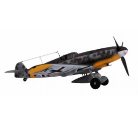 WWII Luftwaffe BF-109 The Black Devil of Ukraine 1943 Scale 1:18