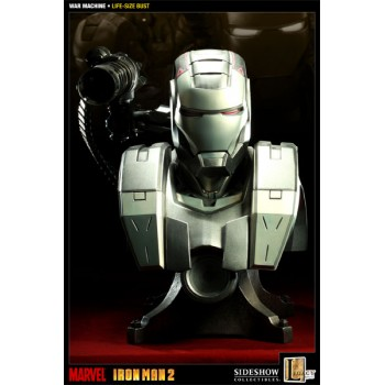 War Machine Iron Man 2 Life-Size Bust