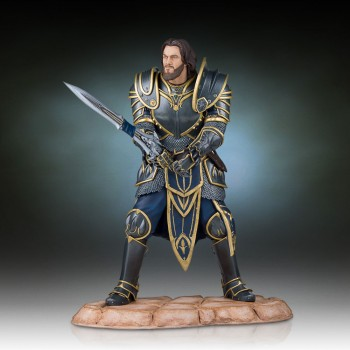 Warcraft The Beginning Statue Lothar 28 cm