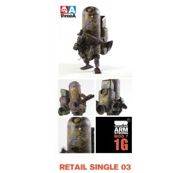 World War Robot Action Figure 1/12 Armstrong Mod 7 1G 18cm