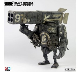 World War Robot Heavy Bramble Action Figure 1/12 Gravedigger 18 cm