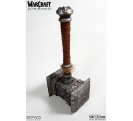 EPIC Weapons World of Warcraft Metal Replica 1/1 Doomhammer with Display base