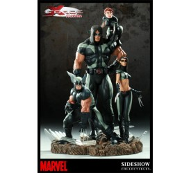 X-Men Diorama X-Force Sideshow Exclusive