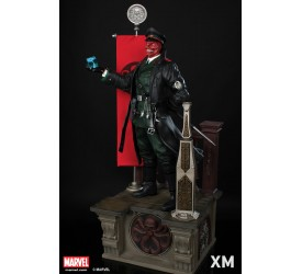 XM Studios Premium Collectibles Red Skull Statue