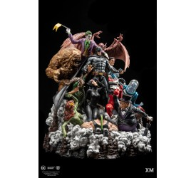 DC EPIC DIORAMA Series Batman Sanity Full Colour Version