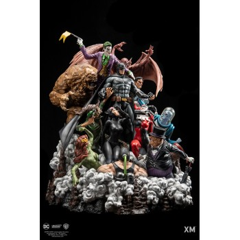 DC EPIC DIORAMA Series Batman Sanity Full Colour Version
