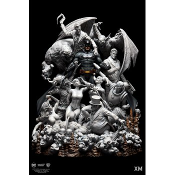 DC EPIC DIORAMA Series Batman Sanity Smoke Version