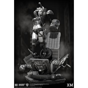 DC Premium Collectibles DC Rebirth Series Statue Harley Quinn Version A