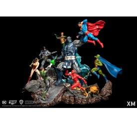 DC EPIC DIORAMA 1/6 Series Justice League VS Darkseid Version A (Colour)