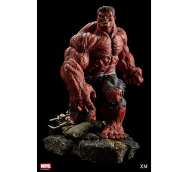 Marvel Premium Collectibles Series Statue 1/4 Red Hulk