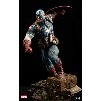 Marvel Premium Collectibles Series Statue Ultimate Captain America (Version A)