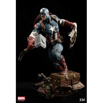 Marvel Premium Collectibles Series Statue Ultimate Captain America (Version B)