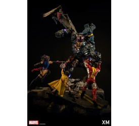 Marvel Epic Diorama Series the X-Men VS Sentinel 130 CM