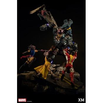 Marvel Epic Diorama Series the X-Men VS Sentinel 130 CM